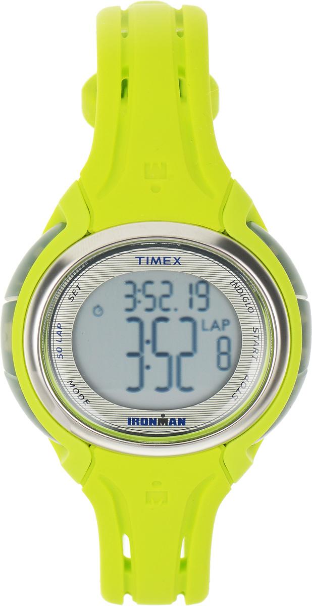 Часы наручные женские Timex Sleek Premium, цвет: салатовый. TW5K97700TW5K97700Стильные часы Timex Sleek Premium - это модный и практичный аксессуар, который не только выгодно дополнит ваш наряд, но и будет незаменим для каждой современной девушки, ценящей свое время. Корпус выполнен из пластика и оснащен задней крышкой из нержавеющей стали. Циферблат оснащен запатентованной электролюминесцентной подсветкой Indiglo и оформлен символикой бренда. Корпус изделия имеет степень влагозащиты 10 Bar, оснащен кварцевым механизмом и дополнен устойчивым к царапинам хезалитовым стеклом. Прочный и устойчивый к выцветанию ремешок выполнен из силикона и дополнен пряжкой, которая позволяет с легкостью снимать и надевать изделие. Часы имеют функции секундомера с памятью о 50 временных отрезках и интервального таймера. Часы поставляются в фирменной упаковке. Часы Timex подчеркнут изящество ваших рук, а также ваш неповторимый стиль.