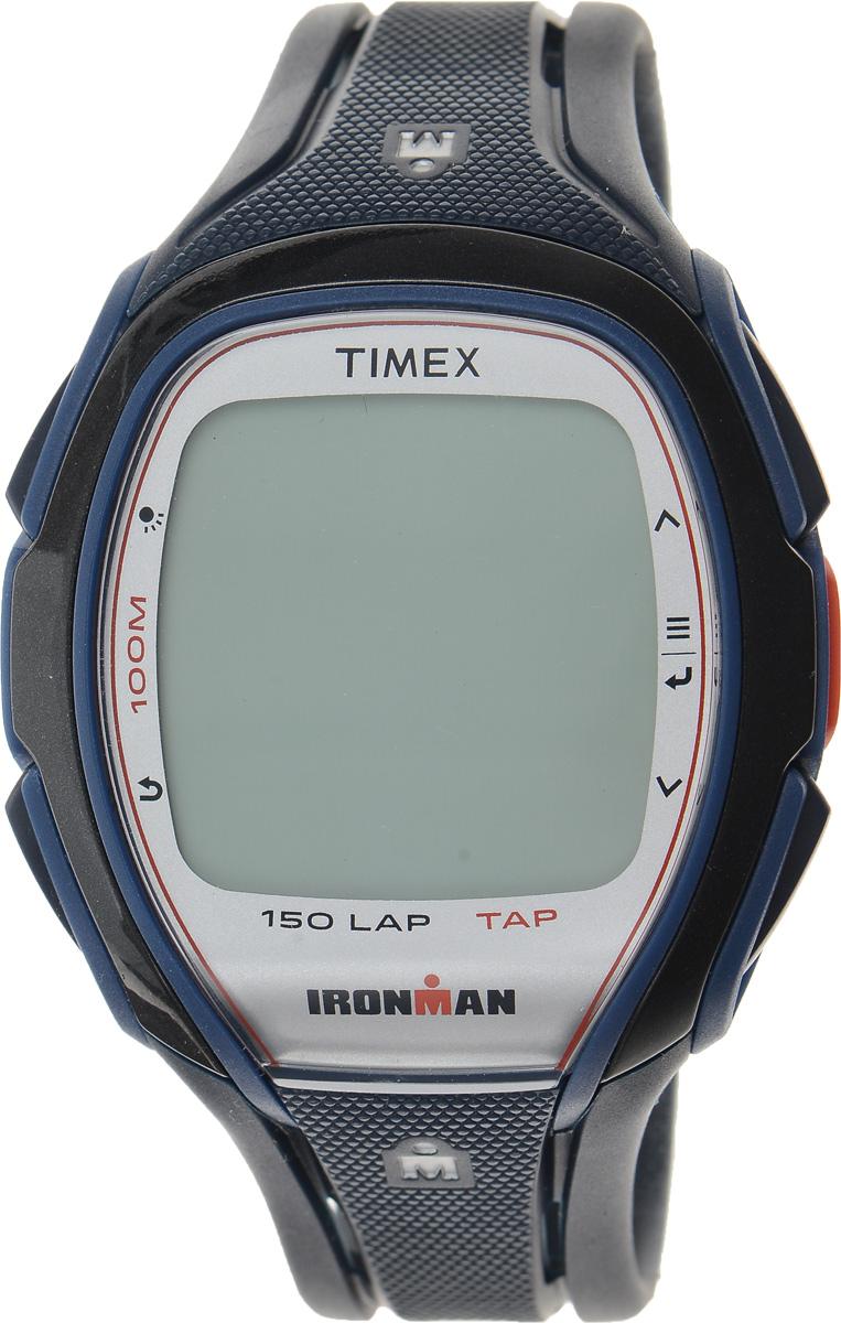 Часы наручные мужские Timex Sleek Premium, цвет: темно-синий, черный. TW5K96500TW5K96500Стильные мужские часы Timex Sleek Premium - это модный и практичный аксессуар, который не только выгодно дополнит ваш образ, но и будет незаменим для каждого современного мужчины, ценящего свое время. Корпус выполнен из пластика и оснащен задней крышкой из нержавеющей стали. Циферблат оснащен запатентованной электролюминесцентной подсветкой Indiglo и оформлен символикой бренда. Корпус изделия имеет степень влагозащиты 10 Bar, оснащен кварцевым механизмом и дополнен устойчивым к царапинам хезалитовым стеклом. Прочный и устойчивый к выцветанию ремешок выполнен из силикона и дополнен пряжкой, которая позволяет с легкостью снимать и надевать изделие. Часы имеют функции счетчика пульса, секундомера и интервального таймера. Часы поставляются в фирменной упаковке. Часы Timex подчеркнут ваш неповторимый стиль и дополнят любой наряд.