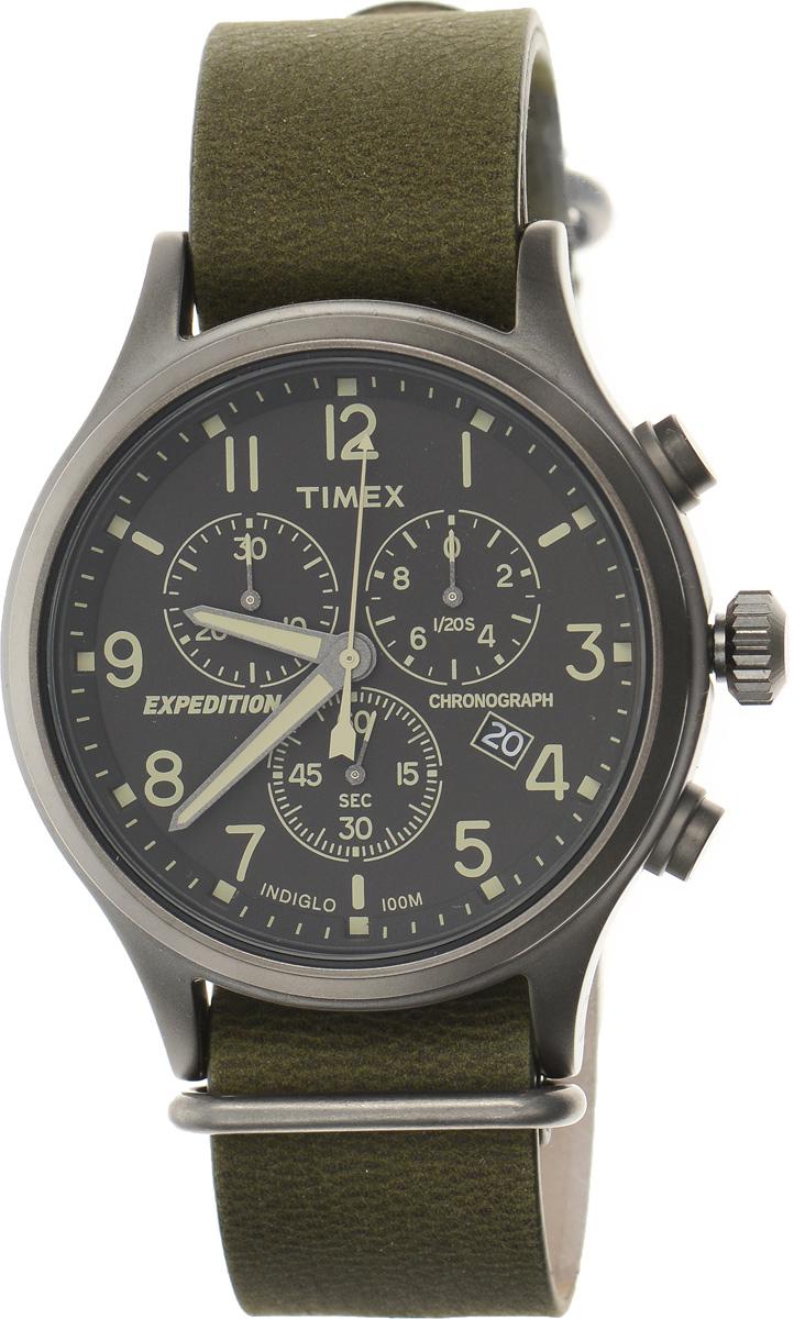 Часы наручные мужские Timex Analog Premium, цвет: темно-зеленый, черный. TW4B04100TW4B04100Стильные мужские часы Timex Analog Premium - это модный и практичный аксессуар, который не только выгодно дополнит ваш образ, но и будет незаменим для каждого современного мужчины, ценящего свое время. Корпус с минеральным стеклом выполнен из нержавеющей стали. Циферблат оснащен запатентованной электролюминесцентной подсветкой Indiglo и оформлен символикой бренда. Часы дополнены хронографом и имеют индикатор даты. Корпус изделия имеет степень влагозащиты 10 Bar, оснащен кварцевым механизмом и дополнен устойчивым к царапинам минеральным стеклом. Ремешок выполнен из натуральной кожи и дополнен пряжкой, которая позволяет с легкостью снимать и надевать изделие. Часы поставляются в фирменной упаковке. Часы Timex подчеркнут ваш неповторимый стиль и дополнят любой наряд.