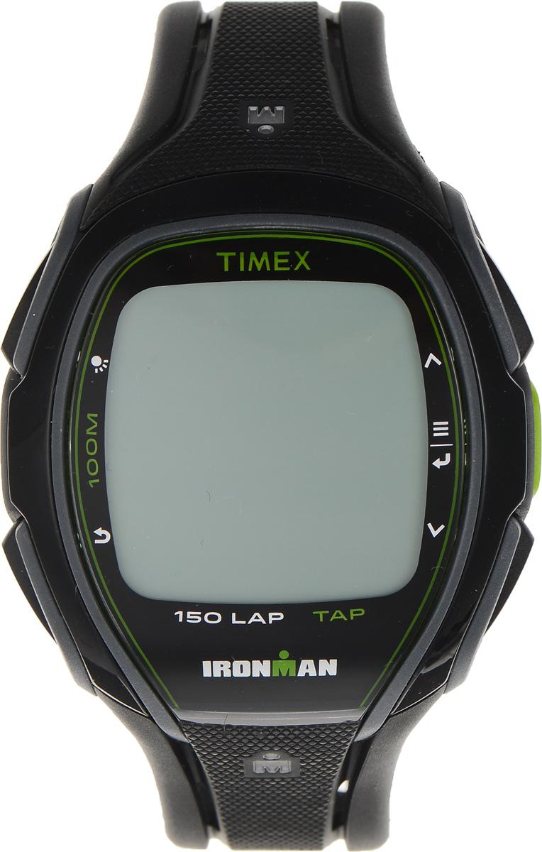 Часы наручные мужские Timex Sleek Premium, цвет: черный. TW5K96400TW5K96400Стильные мужские часы Timex Sleek Premium - это модный и практичный аксессуар, который не только выгодно дополнит ваш образ, но и будет незаменим для каждого современного мужчины, ценящего свое время. Корпус выполнен из пластика и оснащен задней крышкой из нержавеющей стали. Циферблат оснащен запатентованной электролюминесцентной подсветкой Indiglo и оформлен символикой бренда. Корпус изделия имеет степень влагозащиты 10 Bar, оснащен кварцевым механизмом и дополнен устойчивым к царапинам хезалитовым стеклом. Прочный и устойчивый к выцветанию ремешок выполнен из силикона и дополнен пряжкой, которая позволяет с легкостью снимать и надевать изделие. Часы имеют функции счетчика пульса, секундомера и интервального таймера. Часы поставляются в фирменной упаковке. Часы Timex подчеркнут ваш неповторимый стиль и дополнят любой наряд.