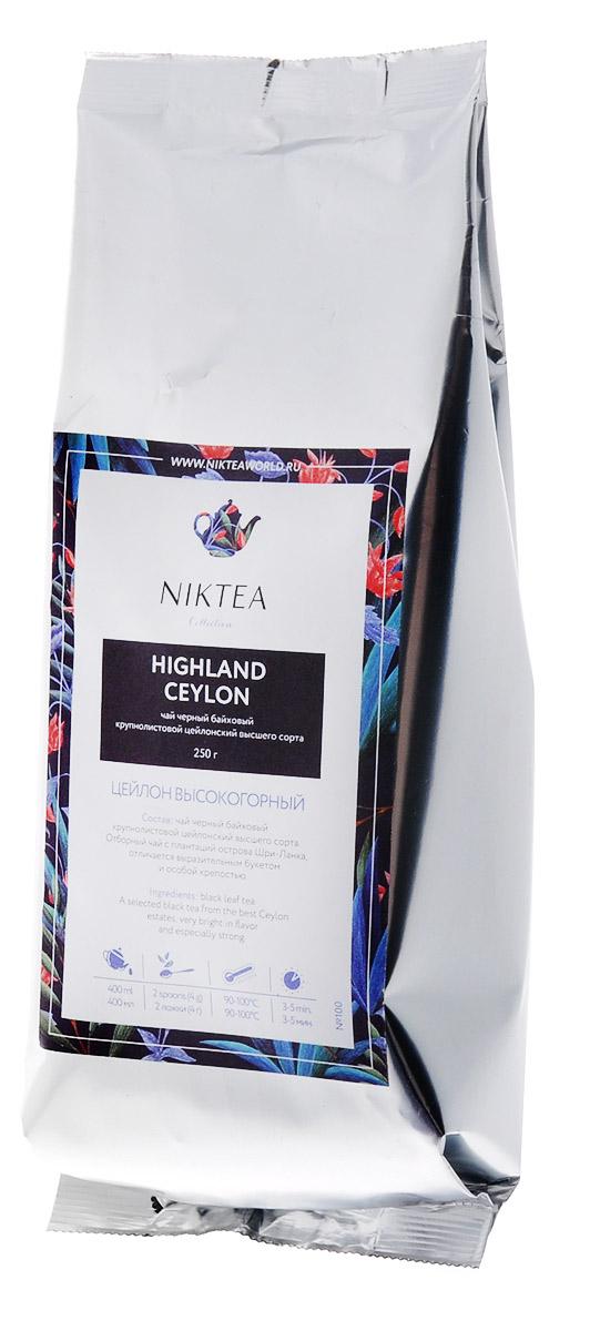 Niktea Highland Сeylon черный листовой чай, 250 гTALTHA-DP0001Niktea Highland Сeylon - отборный черный листовой чай с плантаций острова Шри-Ланка, отличается выразительным букетом и особой крепостью. NikTea следует правилу качество чая - это отражение качества жизни и гарантирует: Тщательно подобранные рецептуры в коллекции топовых позиций-бестселлеров. Контролируемое производство и сертификацию по международным стандартам. Закупку сырья у надежных поставщиков в главных чаеводческих районах, а также в основных центрах тимэйкерской традиции - Германии и Голландии. Постоянство качества по строго утвержденным стандартам. NikTea - это два вида фасовки - линейки листового и пакетированного чая в удобной технологичной и информативной упаковке. Чай обладает многофункциональным вкусоароматическим профилем и подходит для любого типа кухни, при этом постоянно осуществляет оптимизацию базовой коллекции в соответствии с новыми тенденциями чайного рынка. Листовая коллекция NikTea представлена в...
