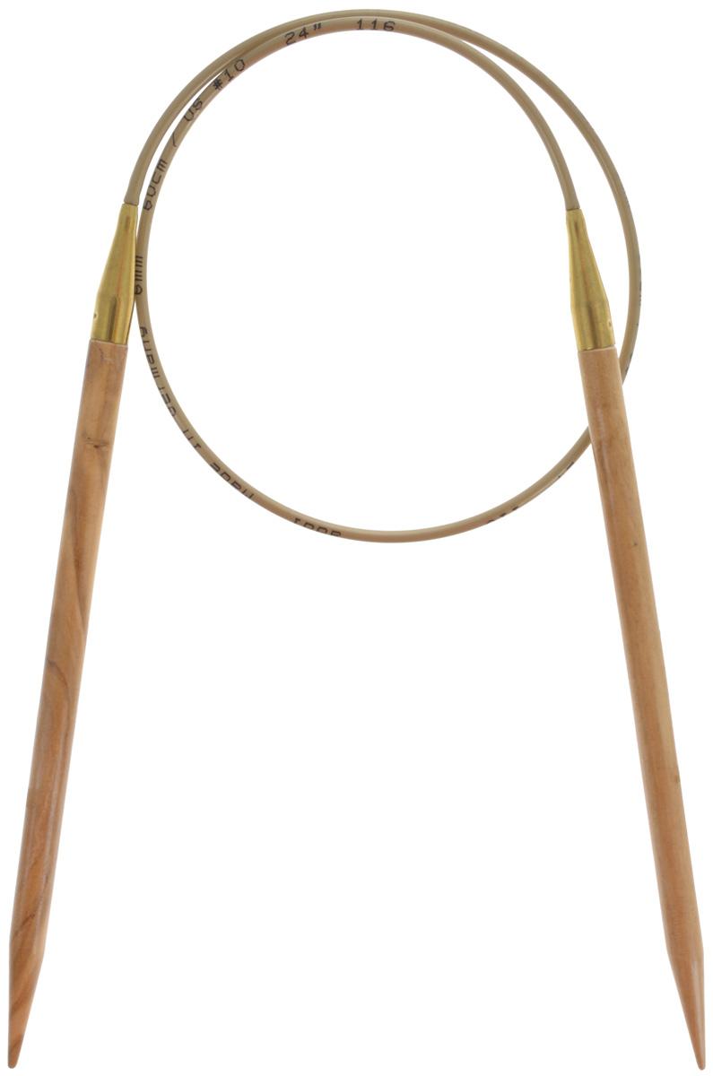 Спицы Addi, из оливкового дерева, круговые, диаметр 6,0 мм, длина 60 см575-7/6-60Спицы Addi изготовлены из оливкового дерева и скреплены гибким нейлоновым шнуром. Каждая спица из оливкового дерева уникальна своим рисунком. Изделия обработаны натуральным воском, что делает их особенно гладкими и приятными в работе. Помимо мягкости и удобства при работе эти спицы являются элементами роскоши. Вы сможете вязать для себя, делать подарки друзьям. Работа, сделанная своими руками, долго будет радовать вас и ваших близких.