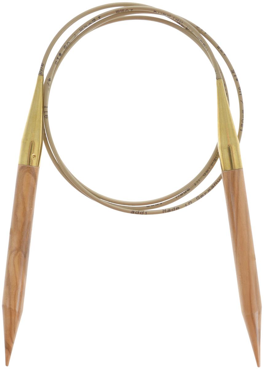 Спицы Addi, из оливкового дерева, круговые, диаметр 10,0 мм, длина 100 см575-7/10-100Спицы Addi изготовлены из оливкового дерева и скреплены гибким нейлоновым шнуром. Каждая спица из оливкового дерева уникальна своим рисунком. Изделия обработаны натуральным воском, что делает их особенно гладкими и приятными в работе. Помимо мягкости и удобства при работе эти спицы являются элементами роскоши. Вы сможете вязать для себя, делать подарки друзьям. Работа, сделанная своими руками, долго будет радовать вас и ваших близких.