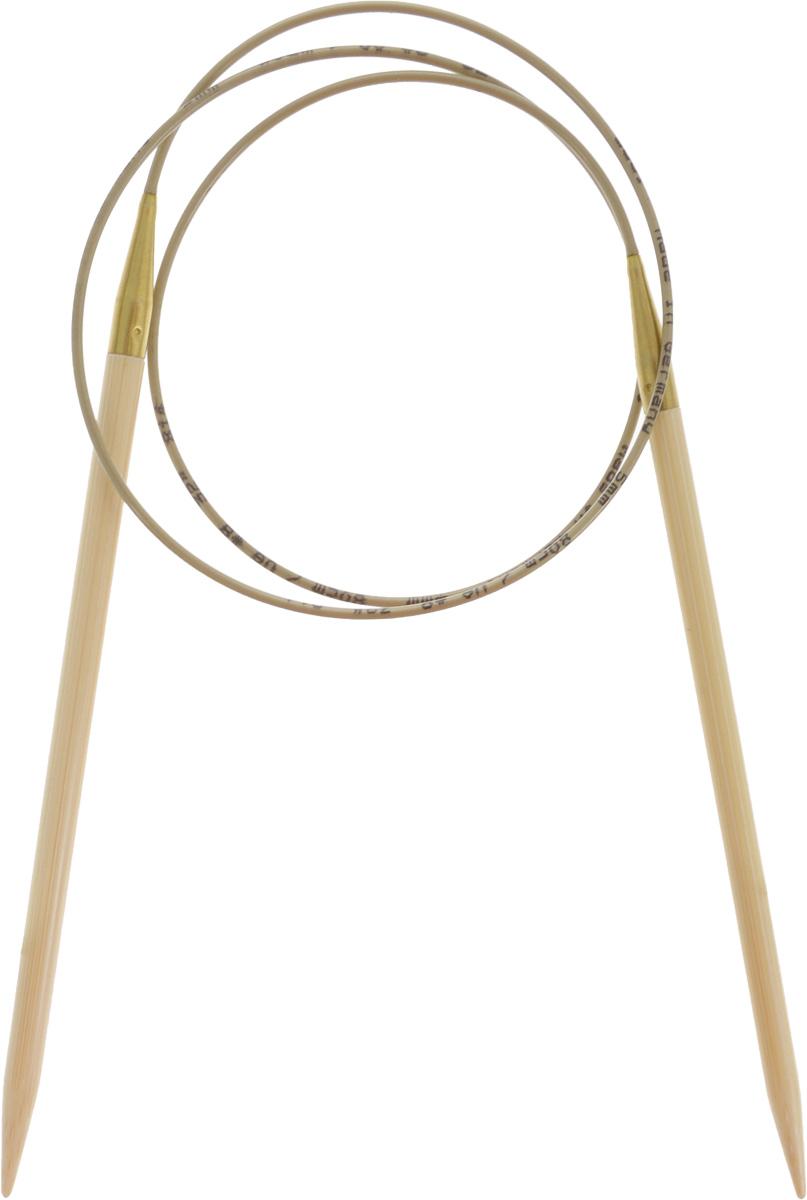Спицы Addi, бамбуковые, круговые, диаметр 5,0 мм, длина 80 см555-7/5-80Спицы для вязания Addi, изготовленные из высококачественного бамбука, имеют закругленные кончики и скреплены гибким нейлоновым шнуром. Поверхность спицы обрабатывается специальным, высокотехнологичным японским воском, который закрывает поры бамбука и делает поверхность абсолютно гладкой. Спицы также прочные и легкие, поэтому руки абсолютно не устают при вязании. Круговые спицы наиболее удобны для вязания тонкой пряжей. Вы сможете вязать для себя, делать подарки друзьям. Работа, сделанная своими руками, долго будет радовать вас и ваших близких.
