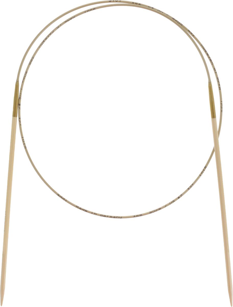Спицы Addi, бамбуковые, круговые, диаметр 3 мм, длина 80 см555-7/3-80Спицы для вязания Addi, изготовленные из высококачественного бамбука, имеют закругленные кончики и скреплены гибким нейлоновым шнуром, позволяющим мягко скользить спицам между петлями. Бамбуковые спицы идеально подходят для людей с аллергией на металлы. Поверхность спицы обрабатывается специальным, высокотехнологичным японским воском, который закрывает поры бамбука и делает поверхность абсолютно гладкой. Изделие прочное и легкое, руки абсолютно не устают при вязании. Вы сможете вязать для себя, делать подарки друзьям. Работа, сделанная своими руками, долго будет радовать вас и ваших близких.