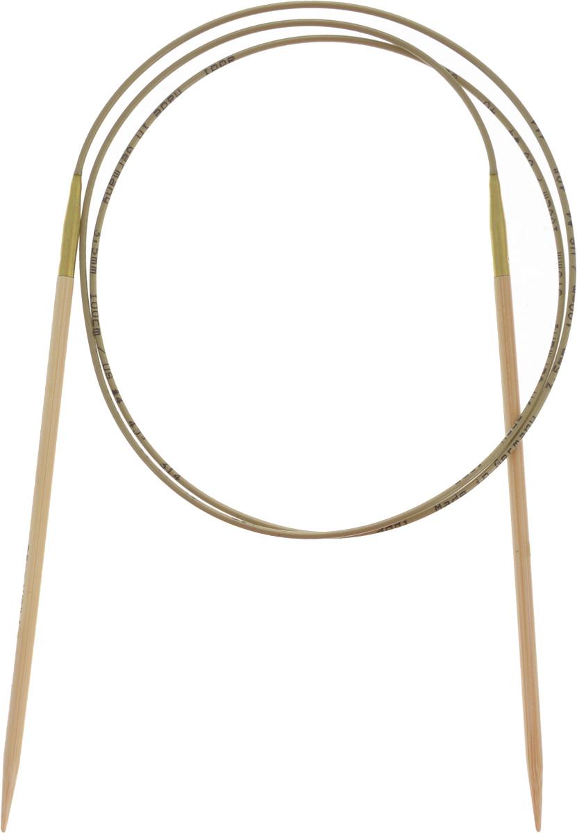 Спицы Addi, бамбуковые, круговые, диаметр 3,5 мм, длина 100 см555-7/3.5-100Спицы для вязания Addi, изготовленные из высококачественного бамбука, имеют закругленные кончики и скреплены гибким нейлоновым шнуром, позволяющим мягко скользить спицам между петлями. Бамбуковые спицы идеально подходят для людей с аллергией на металлы. Поверхность спицы обрабатывается специальным, высокотехнологичным японским воском, который закрывает поры бамбука и делает поверхность абсолютно гладкой. Изделие прочное и легкое, руки абсолютно не устают при вязании. Вы сможете вязать для себя, делать подарки друзьям. Работа, сделанная своими руками, долго будет радовать вас и ваших близких.