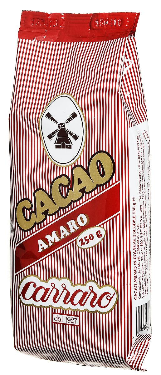 Горький Carraro Bitter - это отличная чашка шоколада как такового, либо для кулинарных рецептов. Это какао производится из лучшего какао-порошка с содержанием какао-масла 20-22%.