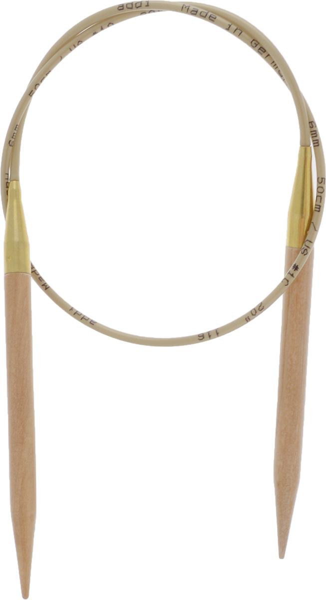 Спицы Addi, из оливкового дерева, круговые, диаметр 6,0 мм, длина 50 см575-7/6-50Спицы Addi изготовлены из оливкового дерева и скреплены гибким нейлоновым шнуром. Каждая спица из оливкового дерева уникальна своим рисунком. Изделия обработаны натуральным воском, что делает их особенно гладкими и приятными в работе. Помимо мягкости и удобства при работе эти спицы являются элементами роскоши. Вы сможете вязать для себя, делать подарки друзьям. Работа, сделанная своими руками, долго будет радовать вас и ваших близких.