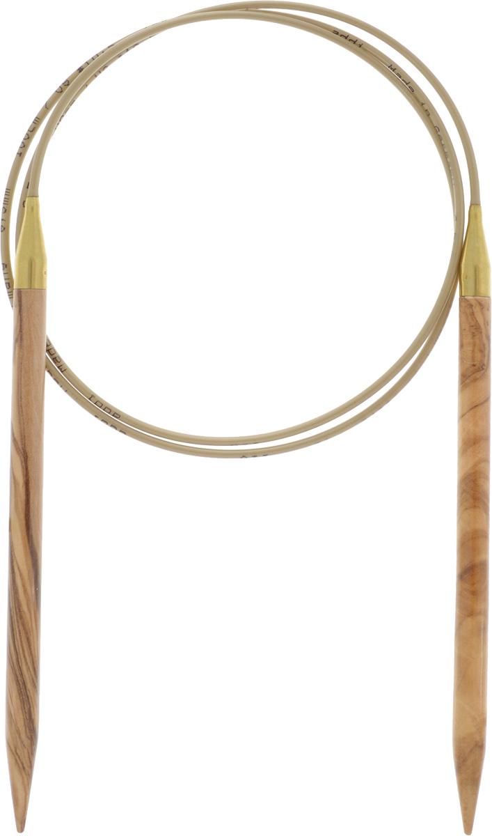 Спицы Addi, из оливкового дерева, круговые, диаметр 100 мм, длина 6,5 см575-7/6.5-100Спицы Addi изготовлены из оливкового дерева и скреплены гибким нейлоновым шнуром. Каждая спица из оливкового дерева уникальна своим рисунком. Изделия обработаны натуральным воском, что делает их особенно гладкими и приятными в работе. Помимо мягкости и удобства при работе эти спицы являются элементами роскоши. Вы сможете вязать для себя, делать подарки друзьям. Работа, сделанная своими руками, долго будет радовать вас и ваших близких.