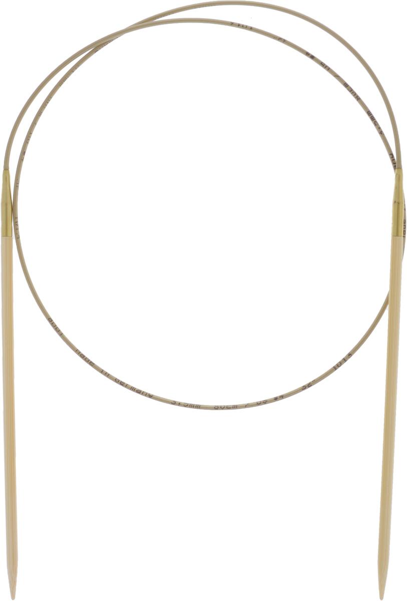 Спицы Addi, бамбуковые, круговые, диаметр 3,5 мм, длина 80 см555-7/3.5-80Спицы для вязания Addi, изготовленные из высококачественного бамбука, имеют закругленные кончики и скреплены гибким нейлоновым шнуром. Поверхность спицы обрабатывается специальным, высокотехнологичным японским воском, который закрывает поры бамбука и делает поверхность абсолютно гладкой. Спицы также прочные и легкие, поэтому руки абсолютно не устают при вязании. Круговые спицы наиболее удобны для вязания тонкой пряжей. Вы сможете вязать для себя, делать подарки друзьям. Работа, сделанная своими руками, долго будет радовать вас и ваших близких.