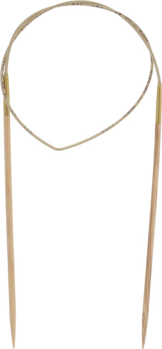 Спицы Addi, из оливкового дерева, круговые, диаметр 3,0 мм, длина 60 см575-7/3-60Спицы Addi изготовлены из оливкового дерева и скреплены гибким нейлоновым шнуром. Каждая спица из оливкового дерева уникальна своим рисунком. Изделия обработаны натуральным воском, что делает их особенно гладкими и приятными в работе. Помимо мягкости и удобства при работе эти спицы являются элементами роскоши. Вы сможете вязать для себя, делать подарки друзьям. Работа, сделанная своими руками, долго будет радовать вас и ваших близких.