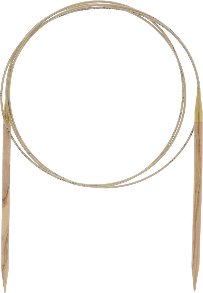 Спицы Addi, из оливкового дерева, круговые, диаметр 5,5 мм, длина 150 см575-7/5.5-150Спицы Addi изготовлены из оливкового дерева и скреплены гибким нейлоновым шнуром. Каждая спица из оливкового дерева уникальна своим рисунком. Изделия обработаны натуральным воском, что делает их особенно гладкими и приятными в работе. Помимо мягкости и удобства при работе эти спицы являются элементами роскоши. Вы сможете вязать для себя, делать подарки друзьям. Работа, сделанная своими руками, долго будет радовать вас и ваших близких.