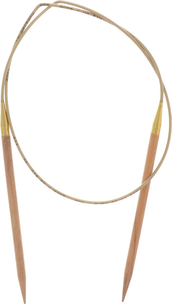 Спицы Addi, из оливкового дерева, круговые, диаметр 6,0 мм, длина 80 см575-7/6-80Спицы Addi изготовлены из оливкового дерева и скреплены гибким нейлоновым шнуром. Каждая спица из оливкового дерева уникальна своим рисунком. Изделия обработаны натуральным воском, что делает их особенно гладкими и приятными в работе. Помимо мягкости и удобства при работе эти спицы являются элементами роскоши. Вы сможете вязать для себя, делать подарки друзьям. Работа, сделанная своими руками, долго будет радовать вас и ваших близких.
