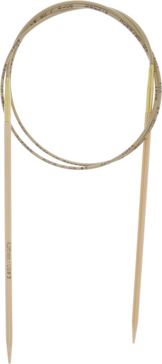 Спицы Addi, бамбуковые, круговые, диаметр 3,25 мм, длина 80 см555-7/3.25-80Спицы для вязания Addi, изготовленные из высококачественного бамбука, имеют закругленные кончики и скреплены гибким нейлоновым шнуром, позволяющим мягко скользить спицам между петлями. Бамбуковые спицы идеально подходят для людей с аллергией на металлы. Поверхность спицы обрабатывается специальным, высокотехнологичным японским воском, который закрывает поры бамбука и делает поверхность абсолютно гладкой. Изделие прочное и легкое, руки абсолютно не устают при вязании. Вы сможете вязать для себя, делать подарки друзьям. Работа, сделанная своими руками, долго будет радовать вас и ваших близких.