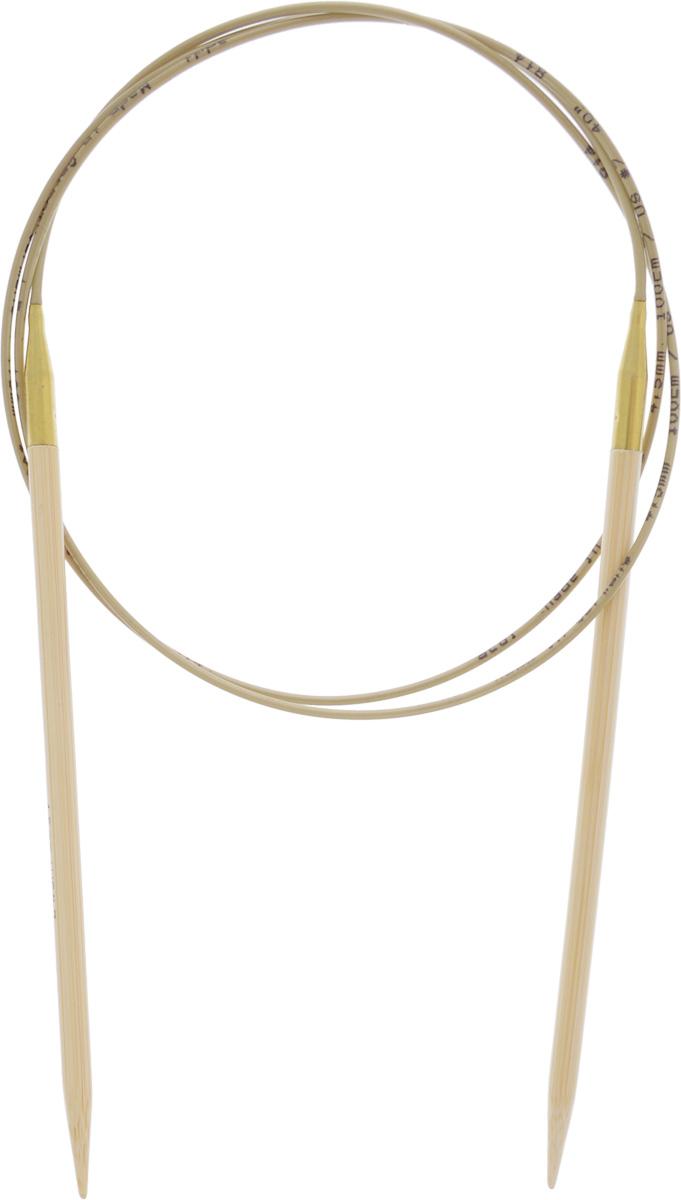 Спицы Addi, бамбуковые, круговые, диаметр 4,5 мм, длина 100 см555-7/4.5-100Спицы для вязания Addi, изготовленные из высококачественного бамбука, имеют закругленные кончики и скреплены гибким нейлоновым шнуром. Поверхность спицы обрабатывается специальным, высокотехнологичным японским воском, который закрывает поры бамбука и делает поверхность абсолютно гладкой. Спицы также прочные и легкие, поэтому руки абсолютно не устают при вязании. Круговые спицы наиболее удобны для вязания тонкой пряжей. Вы сможете вязать для себя, делать подарки друзьям. Работа, сделанная своими руками, долго будет радовать вас и ваших близких.