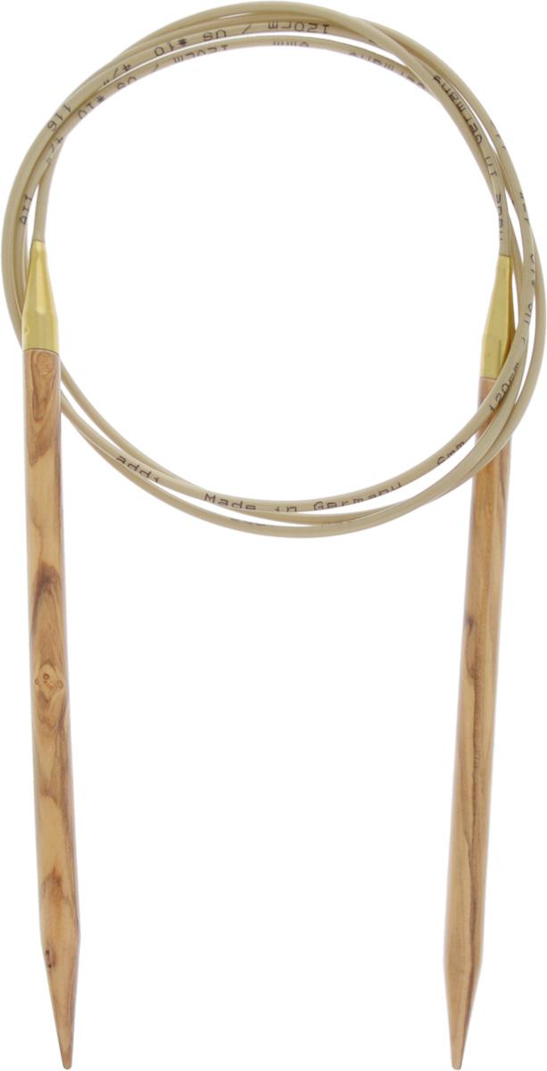 Спицы Addi, из оливкового дерева, круговые, диаметр 6,0 мм, длина 120 см575-7/6-120Спицы Addi изготовлены из оливкового дерева и скреплены гибким нейлоновым шнуром. Каждая спица из оливкового дерева уникальна своим рисунком. Изделия обработаны натуральным воском, что делает их особенно гладкими и приятными в работе. Помимо мягкости и удобства при работе эти спицы являются элементами роскоши. Вы сможете вязать для себя, делать подарки друзьям. Работа, сделанная своими руками, долго будет радовать вас и ваших близких.