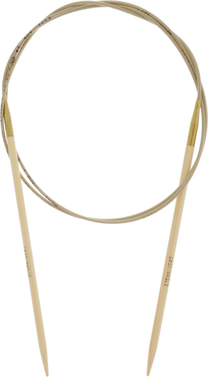 Спицы Addi, бамбуковые, круговые, диаметр 3,75 мм, длина 100 см555-7/3.75-100Спицы для вязания Addi, изготовленные из высококачественного бамбука, имеют закругленные кончики и скреплены гибким нейлоновым шнуром, позволяющим мягко скользить спицам между петлями. Бамбуковые спицы идеально подходят для людей с аллергией на металлы. Поверхность спицы обрабатывается специальным, высокотехнологичным японским воском, который закрывает поры бамбука и делает поверхность абсолютно гладкой. Изделие прочное и легкое, руки абсолютно не устают при вязании. Вы сможете вязать для себя, делать подарки друзьям. Работа, сделанная своими руками, долго будет радовать вас и ваших близких.