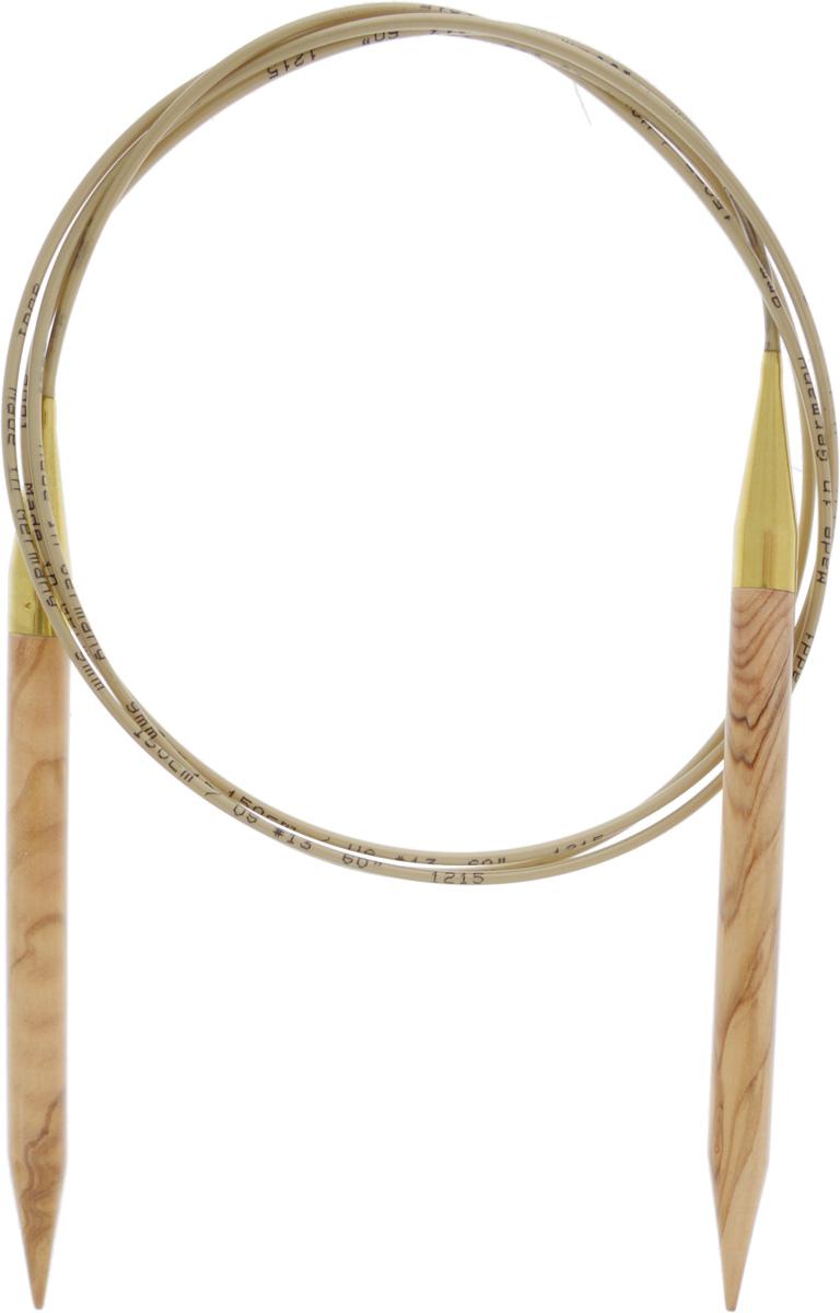 Спицы Addi, из оливкового дерева, круговые, диаметр 9,0 мм, длина 150 см575-7/9-150Спицы Addi изготовлены из оливкового дерева и скреплены гибким нейлоновым шнуром. Каждая спица из оливкового дерева уникальна своим рисунком. Изделия обработаны натуральным воском, что делает их особенно гладкими и приятными в работе. Помимо мягкости и удобства при работе эти спицы являются элементами роскоши. Вы сможете вязать для себя, делать подарки друзьям. Работа, сделанная своими руками, долго будет радовать вас и ваших близких.