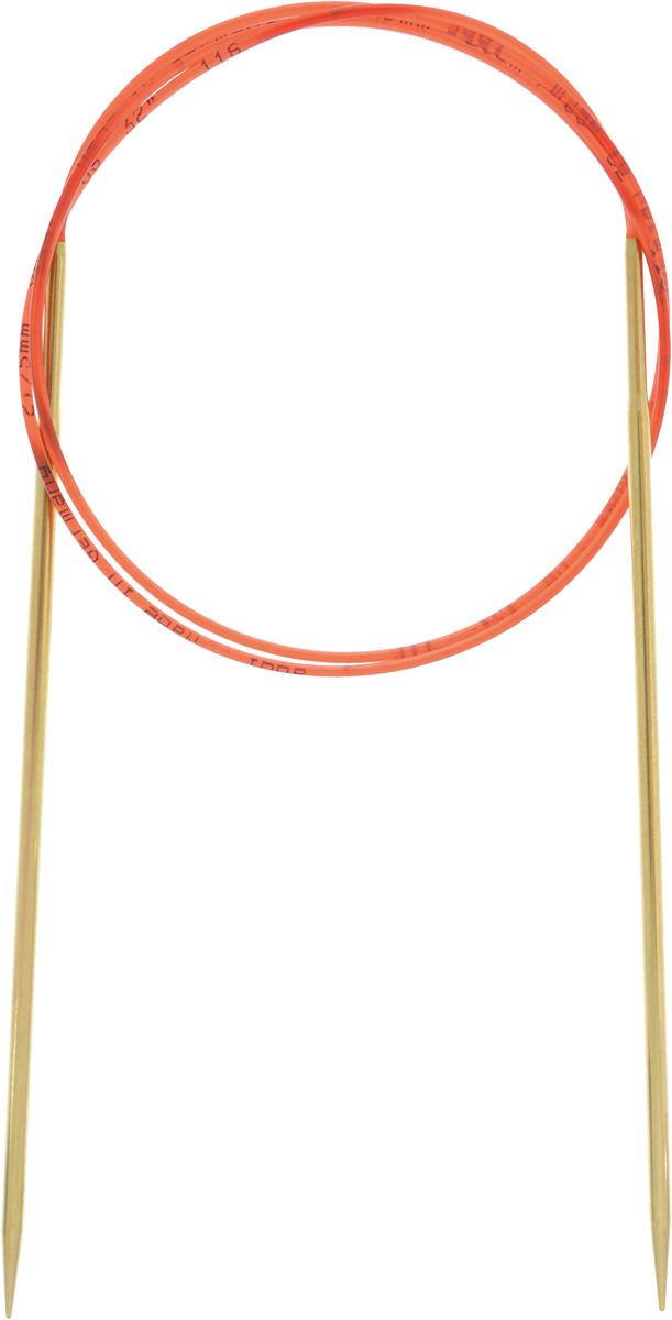 Спицы Addi, с удлиненным кончиком, круговые, цвет: золотистый, красный, диаметр 2,75 мм, длина 80 см755-7/2.75-80Спицы из латуни Addi с удлиненным кончиком, скрепленные гибким нейлоновым шнуром, не содержат никель и подходят чувствительным к этому металлу людям. Поверхность спиц менее гладкая, чем никелированная, что помогает при работе со скользкой пряжей. Изделие полое и легкое, поэтому руки абсолютно не устают при вязании. Поскольку латунь является природным материалом, возможно со временем изменение цвета спиц. Вы сможете вязать для себя, делать подарки друзьям. Работа, сделанная своими руками, долго будет радовать вас и ваших близких.