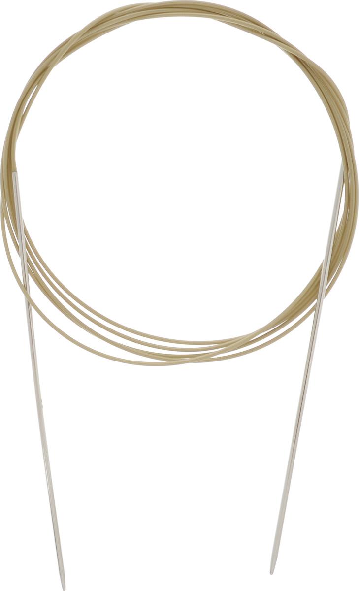 Спицы Addi, круговые, диаметр 2 мм, длина 200 см108-7/2-200Спицы Addi изготовлены из латуни с никелированной поверхностью. Полые, очень легкие спицы с удлиненным кончиком скреплены мягким и гибким нейлоновым шнуром. Гладкое никелированное покрытие и тонкие переходы от спицы к шнуру позволяют петлям легче скользить. Малый вес изделия убережет ваши руки от усталости при вязании. Вы сможете вязать для себя, делать подарки друзьям. Работа, сделанная своими руками, долго будет радовать вас и ваших близких.
