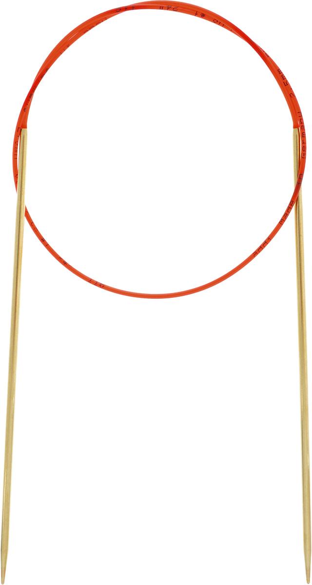 Спицы Addi, из латуни, с удлиненным кончиком, круговые, диаметр 2,5 мм, длина 60 см755-7/2.5-60Спицы из латуни Addi с удлиненным кончиком, скрепленные гибким нейлоновым шнуром, не содержат никель и подходят чувствительным к этому металлу людям. Поверхность спиц менее гладкая, чем никелированная, что помогает при работе со скользкой пряжей. Изделие полое и легкое, поэтому руки абсолютно не устают при вязании. Поскольку латунь является природным материалом, возможно со временем изменение цвета спиц. Вы сможете вязать для себя, делать подарки друзьям. Работа, сделанная своими руками, долго будет радовать вас и ваших близких.