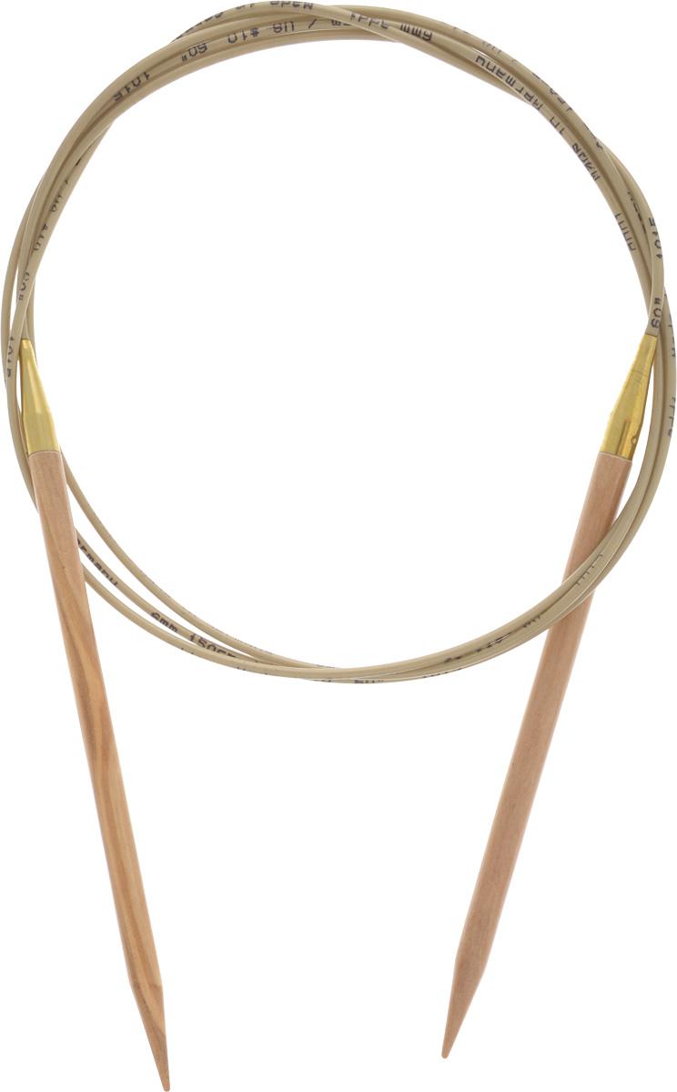 Спицы Addi, из оливкового дерева, круговые, диаметр 6,0 мм, длина 150 см575-7/6-150Спицы Addi изготовлены из оливкового дерева и скреплены гибким нейлоновым шнуром. Каждая спица из оливкового дерева уникальна своим рисунком. Изделия обработаны натуральным воском, что делает их особенно гладкими и приятными в работе. Помимо мягкости и удобства при работе эти спицы являются элементами роскоши. Вы сможете вязать для себя, делать подарки друзьям. Работа, сделанная своими руками, долго будет радовать вас и ваших близких.