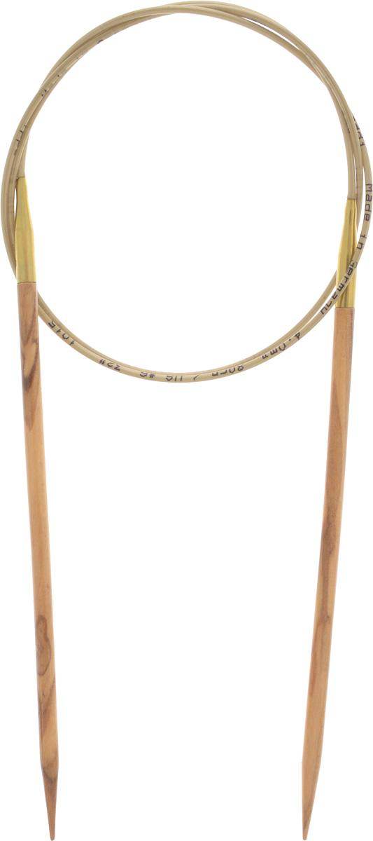 Спицы Addi, из оливкового дерева, круговые, диаметр 4,0 мм, длина 80 см575-7/4-80Спицы Addi изготовлены из оливкового дерева и скреплены гибким нейлоновым шнуром. Каждая спица из оливкового дерева уникальна своим рисунком. Изделия обработаны натуральным воском, что делает их особенно гладкими и приятными в работе. Помимо мягкости и удобства при работе эти спицы являются элементами роскоши. Вы сможете вязать для себя, делать подарки друзьям. Работа, сделанная своими руками, долго будет радовать вас и ваших близких.