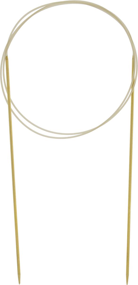 Спицы Addi, с удлиненным кончиком, круговые, цвет: золотистый, красный, диаметр 1,75 мм, длина 80 см714-7/1.75-80Спицы из латуни Addi с удлиненным кончиком, скрепленные гибким нейлоновым шнуром, не содержат никель и подходят чувствительным к этому металлу людям. Поверхность спиц менее гладкая, чем никелированная, что помогает при работе со скользкой пряжей. Изделие полое и легкое, поэтому руки абсолютно не устают при вязании. Поскольку латунь является природным материалом, возможно со временем изменение цвета спиц. Вы сможете вязать для себя, делать подарки друзьям. Работа, сделанная своими руками, долго будет радовать вас и ваших близких.