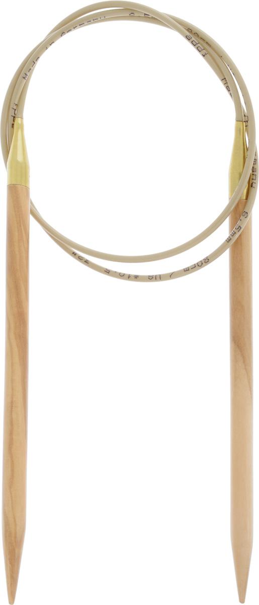 Спицы Addi, из оливкового дерева, круговые, диаметр 6,5 мм, длина 80 см575-7/6.5-80Спицы Addi изготовлены из оливкового дерева и скреплены гибким нейлоновым шнуром. Каждая спица из оливкового дерева уникальна своим рисунком. Изделия обработаны натуральным воском, что делает их особенно гладкими и приятными в работе. Помимо мягкости и удобства при работе эти спицы являются элементами роскоши. Вы сможете вязать для себя, делать подарки друзьям. Работа, сделанная своими руками, долго будет радовать вас и ваших близких.