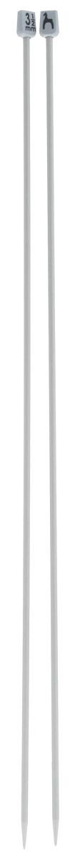 Спицы Pony, металлические, прямые, диаметр 3,5 мм, длина 40 см, 2 шт34207Спицы для вязания Pony, изготовленные из алюминия, обладают прекрасными тактильными качествами и благородным серебристо-матовым цветом. На кончиках в качестве стопперов есть пластиковые прямоугольники с нанесенным на них фирменным логотипом Pony. Прямые спицы используются при плоском вязании отдельных деталей, которые впоследствии будут сшиты в цельное изделие. Вы сможете вязать для себя и делать подарки друзьям. Рукоделие всегда считалось изысканным, благородным делом. Работа, сделанная своими руками, долго будет радовать вас и ваших близких.