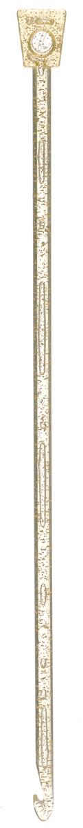 Крючок для вязания Addi Тунисский, пластиковый, диаметр 7 мм, длина 30 см462-7/7-30Крючок Addi Тунисский выполнен из пластика и идеально подойдет для тунисского вязания. Благодаря этой технике можно получить очень красивые по текстуре, плотные и в то же время мягкие вязаные вещи. Этот крючок длиннее обычного и на конце у него имеется стоппер, который позволяет удерживать петли и не дает им спуститься с крючка. Вязание крючком применяют как для изготовления одежды целиком, так и отделочных элементов одежды или украшений. Вы сможете вязать для себя и делать подарки друзьям. Рукоделие всегда считалось изысканным, благородным делом. Работа, сделанная своими руками, долго будет радовать вас и ваших близких. Подарок, выполненный собственноручно, станет самым ценным для друзей и знакомых.