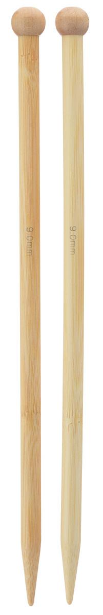 Спицы Addi, бамбуковые, прямые, диаметр 9 мм, длина 25 см, 2 шт500-7/9-25Спицы для вязания Addi изготовлены из бамбука. Поверхность спицы обрабатывается специальным, высокотехнологичным японским воском, который закрывает поры бамбука и делает поверхность абсолютно гладкой. Спицы прочные, легкие, гладкие, удобные в использовании. Ограничители препятствуют соскальзыванию петель. Прямые спицы используются при плоском вязании отдельных деталей, которые впоследствии будут сшиты в цельное изделие. Спицы Addi идеальны для людей с аллергией на металл и их едва слышно при вязании. Вы сможете вязать для себя и делать подарки друзьям. Рукоделие всегда считалось изысканным, благородным делом. Работа, сделанная своими руками, долго будет радовать вас и ваших близких.