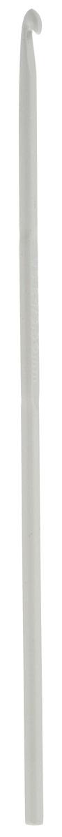 Крючок для вязания Pony, металлический, диаметр 3,5 мм, длина 15 см45207Крючок Pony выполнен из высококачественного алюминия. Крючок предназначен для вязания и плетения из ниток, ручного изготовления полотна. Идеально гладкая головка и стержень крючка обеспечивают равномерное скольжение петель. Вязание крючком применяют как для изготовления одежды целиком, так и отделочных элементов одежды или украшений. Вы сможете вязать для себя и делать подарки друзьям. Рукоделие всегда считалось изысканным, благородным делом. Работа, сделанная своими руками, долго будет радовать вас и ваших близких. Подарок, выполненный собственноручно, станет самым ценным для друзей и знакомых.