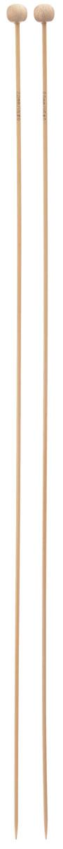 Спицы Addi, бамбуковые, прямые, диаметр 2 мм, длина 35 см, 2 шт500-7/2-035Спицы для вязания Addi изготовлены из бамбука. Поверхность спицы обрабатывается специальным, высокотехнологичным японским воском, который закрывает поры бамбука и делает поверхность абсолютно гладкой. Спицы прочные, легкие, гладкие, удобные в использовании. Ограничители препятствуют соскальзыванию петель. Прямые спицы используются при плоском вязании отдельных деталей, которые впоследствии будут сшиты в цельное изделие. Спицы Addi идеальны для людей с аллергией на металл и их едва слышно при вязании. Вы сможете вязать для себя и делать подарки друзьям. Рукоделие всегда считалось изысканным, благородным делом. Работа, сделанная своими руками, долго будет радовать вас и ваших близких.