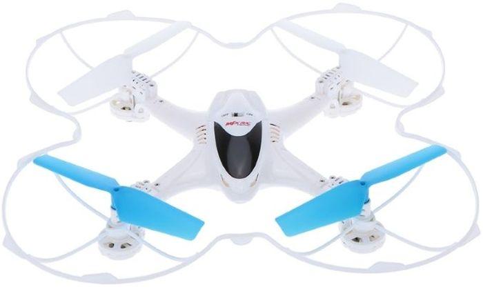 Bluesea Квадрокоптер на радиоуправлении X300C с камерой HDX300CРадиоуправляемый квадрокоптер X300C – это модель мультикоптера небольшого размера со встроенной FPV камерой, для просмотра полета в режиме реального времени Вам потребуется только устройство, работающее на платформе IOS или Android. Модель поставляется в комплектации RTF, с аппаратурой управления на 2.4GHz. Пульт комплектуется специальным зажимом для установки мобильного устройства. Квадрокоптер X300C оснащен 6-осевым электронным гироскопом, поэтому модель превосходно ведет себя в воздухе, даже при наличии не сильного ветерка. Камера, установленная на модели, снимает фото и видео в HD-качестве. Удобная функция Fail-Safe поможет Вам сохранить коптер в сложной полетной ситуации. Она придет на помощь, когда Вы отпустили модель слишком далеко от себя и не понимаете, как его вернуть обратно. Эта функция будет незаменима для начинающих пилотов. Модель квадрокоптера X300C оснащена мощной светодиодной подсветкой, благодаря которой Вы можете контролировать полет в темное время суток. Комплект...