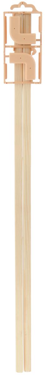 Планка для рамок Elbesee, универсальная, 60 см, 2 штU600Универсальные планки для рамок Elbesee выполнены из дерева. Для составления рамки достаточно просто соединить планки вместе. Для составления одной рамки необходимо 2 упаковки планок. Соединительные уголки входят в комплект. Длина планок: 60 см.