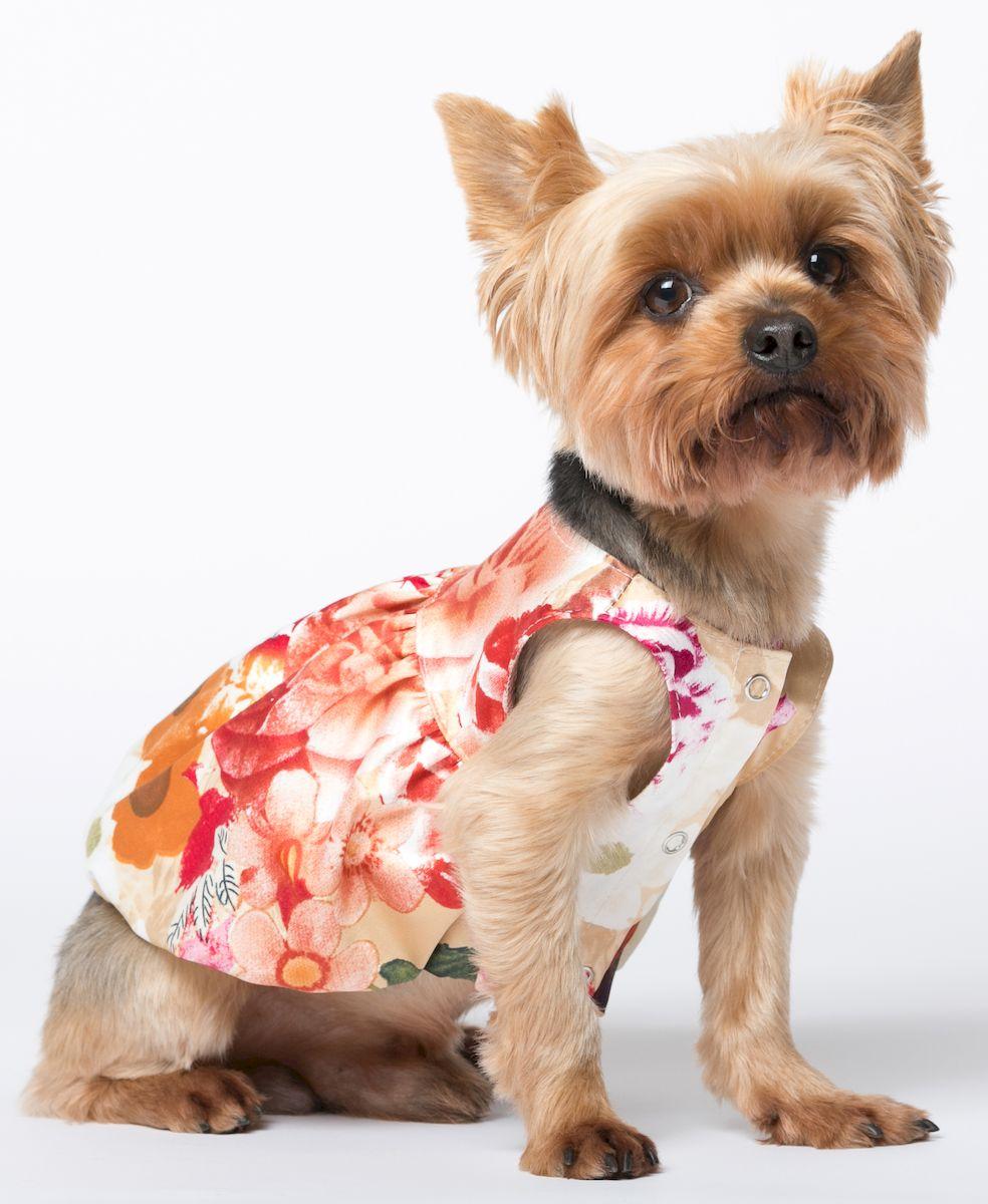 Платье для собак Yoriki Французские мотивы, для девочки. 088-2. Размер M088-2Обхват шеи: 25 см. Обхват груди: 39 см. Длина спины: 24 см.