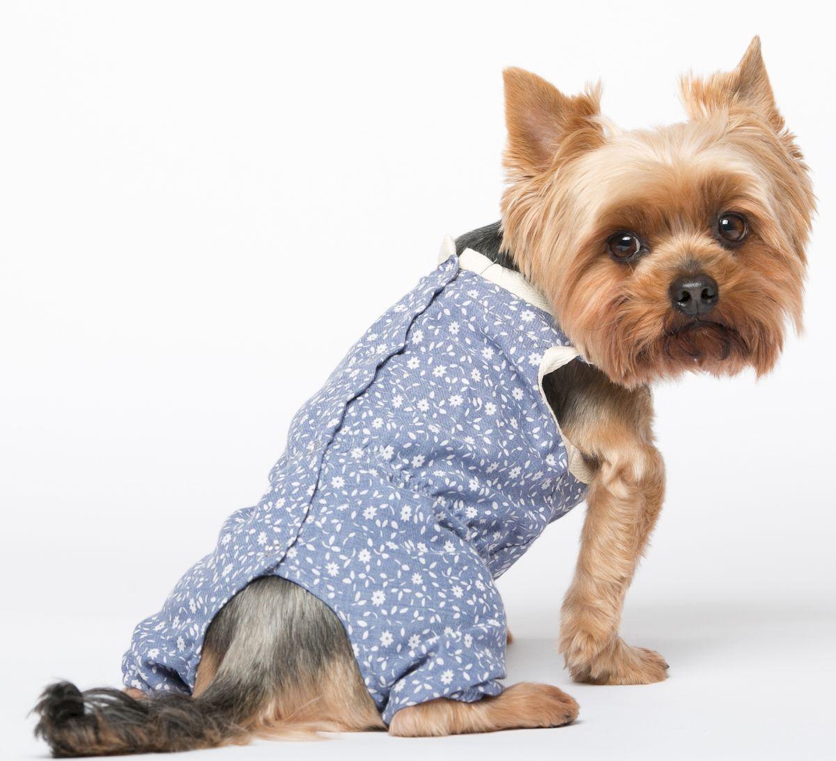 Комбинезон для собак Yoriki Цветочный, для девочки. 386-23. Размер L386-23Обхват шеи: 29 см. Обхват груди: 45 см. Длина спины: 28 см.