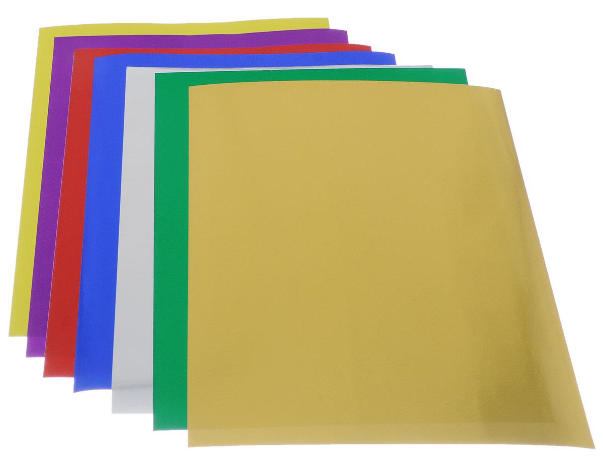 Апплика Цветная фольга День-ночь 7 листов