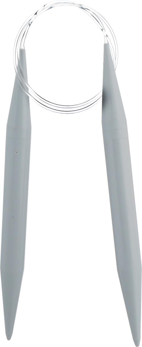 Спицы Pony, пластиковые, круговые, диаметр 15 мм, длина 80 см, 2 шт50674Спицы для вязания Pony, изготовленные из пластика, имеют закругленные кончики и скреплены гибким пластиковым неснимаемым шнуром. Они прочные, легкие, гладкие, удобные в использовании. Круговые спицы наиболее удобны для выполнения деталей и изделий, не имеющих швов. Короткими круговыми спицами вяжут бейки горловины, воротники-гольф, длинными спицами можно вязать по кругу целые модели. Вы сможете вязать для себя, делать подарки друзьям. Рукоделие всегда считалось изысканным, благородным делом. Работа, сделанная своими руками, долго будет радовать вас и ваших близких.