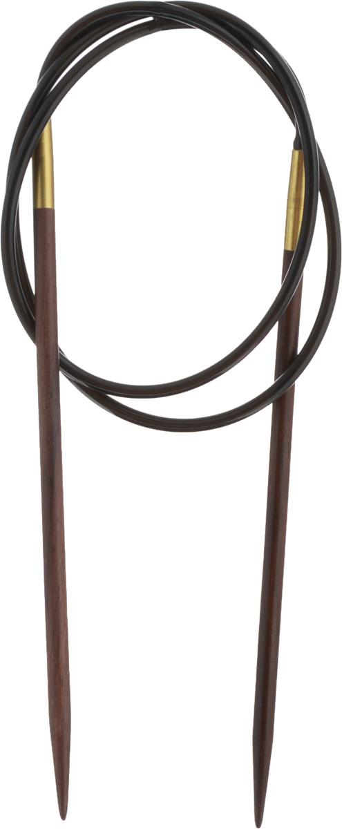 Спицы Pony, деревянные, круговые, диаметр 4,5 мм, длина 80 см, 2 шт50910-02Спицы для вязания Pony, изготовленные из розового дерева, имеют закругленные кончики и скреплены гибким пластиковым неснимаемым шнуром. Они прочные, легкие, гладкие, удобные в использовании. Круговые спицы наиболее удобны для выполнения деталей и изделий, не имеющих швов. Короткими круговыми спицами вяжут бейки горловины, воротники-гольф, длинными спицами можно вязать по кругу целые модели. Вы сможете вязать для себя, делать подарки друзьям. Рукоделие всегда считалось изысканным, благородным делом. Работа, сделанная своими руками, долго будет радовать вас и ваших близких.