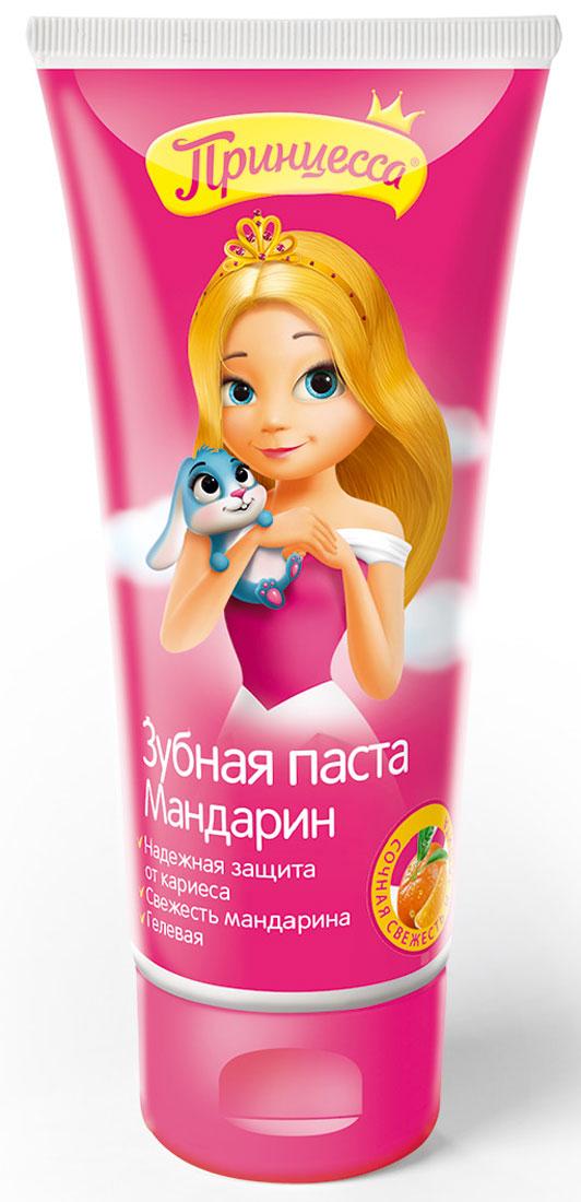 Принцесса Зубная паста Мандарин 65 г34283Детская гелевая зубная паста Мандарин специально разработана для детей от 3-х лет. Мягко очищает и освежает полость рта, эффективно защищает от кариеса как молочные, так и постоянные зубы.