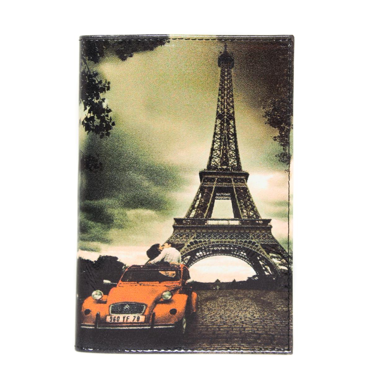 Обложка на паспорт жен. Flioraj, цвет: мультицвет. 0005095000050950Удобная и практичная обложка для документов. Уникальный аксессуар, декорированный качественным фотопринтом.