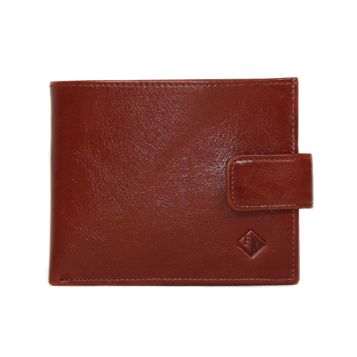Портмоне муж. Flioraj, цвет: коричневый. 0005112400051124Портмоне мужское на цупфере, одно отделение для купюр, наборная визитница, монетник.