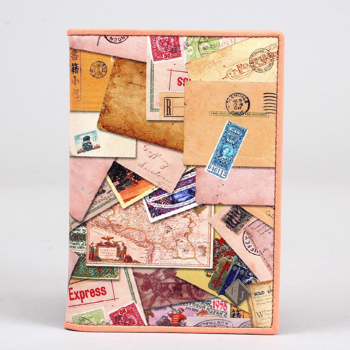 Обложка на автодокументы и паспорт жен. Flioraj, цвет: бежевый. 136-Postcard136-PostcardУдобная и практичная обложка для автодокументов из высококачественной натуральной кожи. Прекрасное довершение Вашего стиля и незаменимый аксессуар.