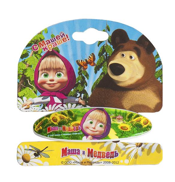 Маша и медведь Заколка-автомат Подсолнухи ( 329052 )
