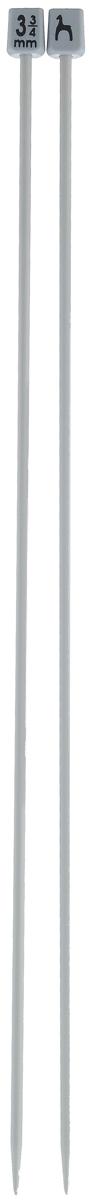 Спицы Pony, прямые, диаметр 3,75 мм, длина 35 см, 2 шт33208Легкие и прочные спицы Pony, изготовленные из алюминия, предназначены для вязания широких деталей изделия, например, спинки, переда, рукавов. Ограничители, выполненные из пластика, препятствуют соскальзыванию петель. Вы сможете вязать для себя и делать подарки друзьям. Рукоделие всегда считалось изысканным, благородным делом. Работа, сделанная своими руками, долго будет радовать вас и ваших близких.