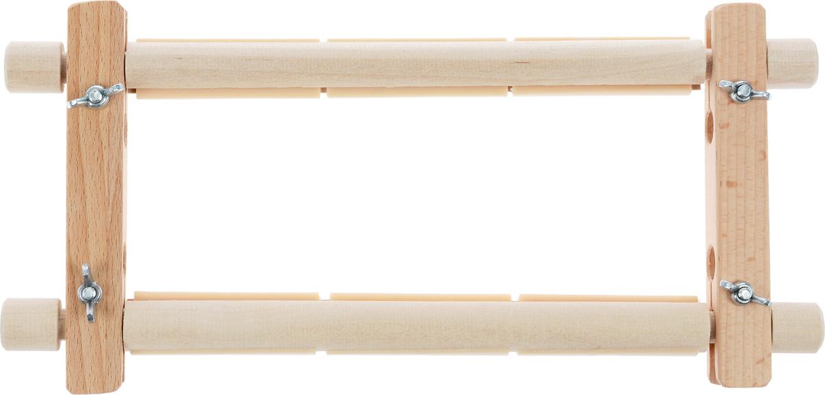 Пяльцы-рамка Бос, с пластиковыми зажимами, 22 х 15 см2215BOSПяльцы-рамка Бос, выполненные из дерева, предназначены для вышивания гобеленов, картин из бисера, работ в стиле ковровой техники и другого. Они оснащены пластиковыми зажимами. Изделие можно держать в руках или использовать в сочетании с универсальной подставкой, держателем пялец, напольным стендом и прочими подставками.