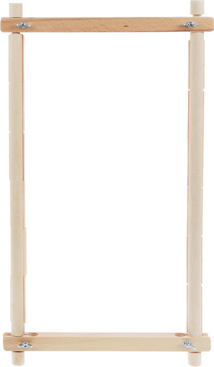 Пяльцы-рамка Бос, с пластиковыми зажимами, 45 х 30 см4530BOSПяльцы-рамка Бос, выполненные из дерева, предназначены для вышивания гобеленов, картин из бисера, работ в стиле ковровой техники и другого. Они оснащены пластиковыми зажимами. Изделие можно держать в руках или использовать в сочетании с универсальной подставкой, держателем пялец, напольным стендом и прочими подставками.