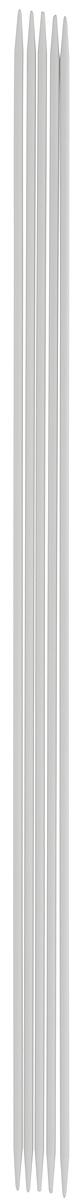 Спицы чулочные Pony, металлические, прямые, диаметр 2 мм, длина 23 см, 5 шт38212Спицы для вязания Pony, изготовленные из алюминия, не имеют ограничителей и предназначены для вязания чулок, варежек и носков. Они прочные, легкие, гладкие и удобные в использовании. Кончики спиц закругленные. Вы сможете вязать для себя и делать подарки друзьям. Рукоделие всегда считалось изысканным, благородным делом. Работа, сделанная своими руками, долго будет радовать вас и ваших близких.